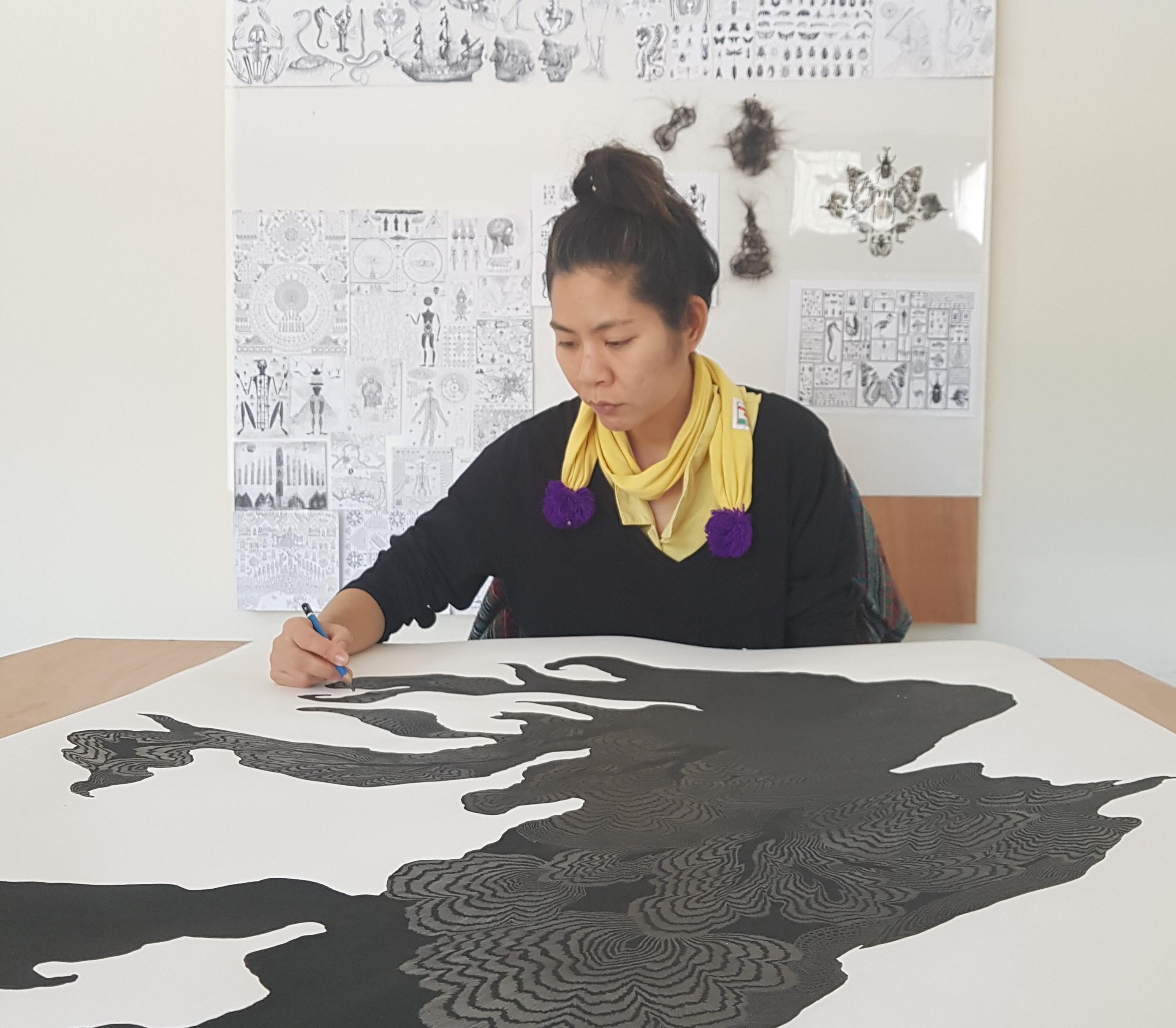 drawing artist thailand visual art drawing