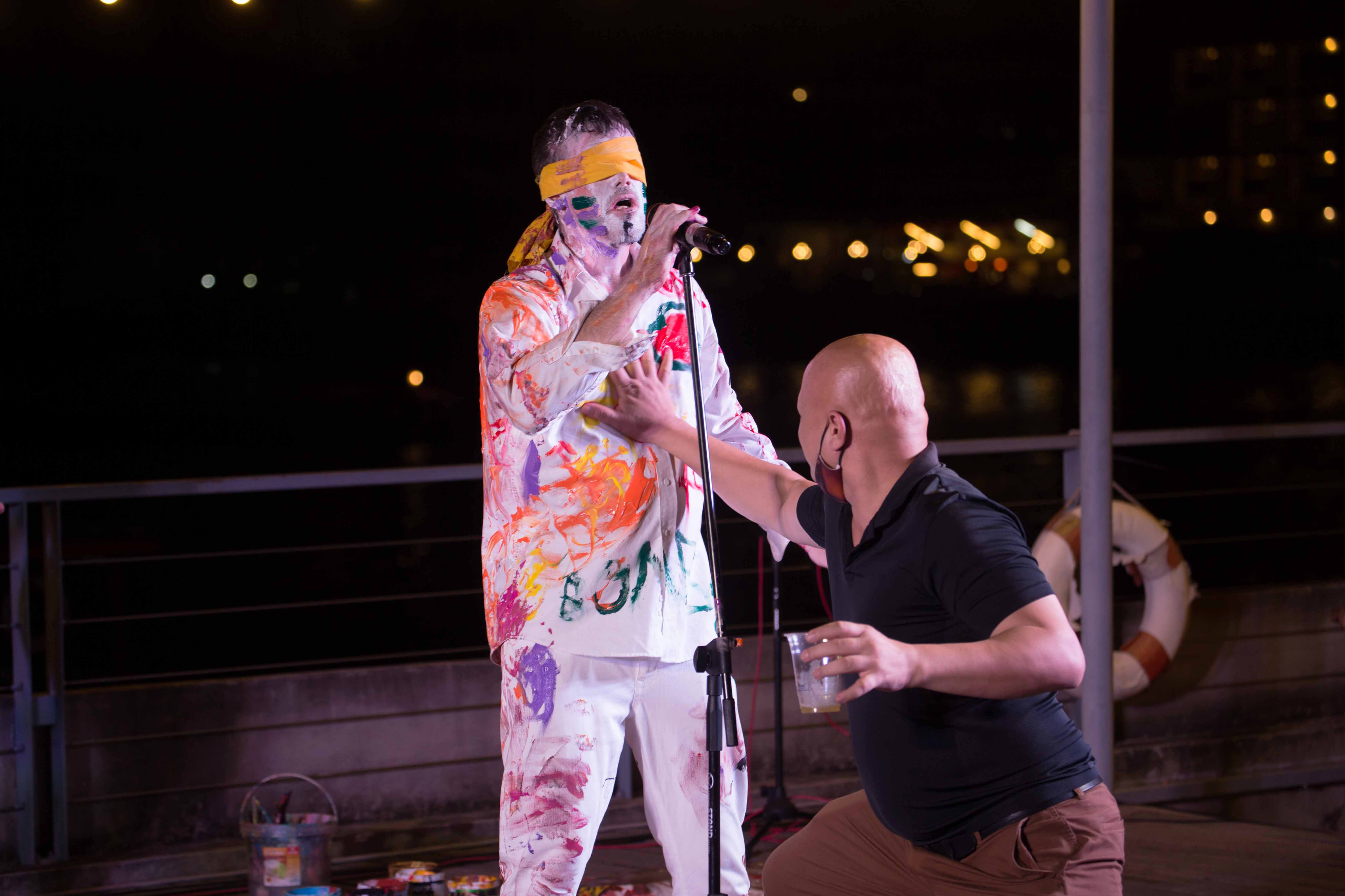 interview with Top Changtrakul Artist and Art Festival Curator Mango Art Festival Bangkok Thailand