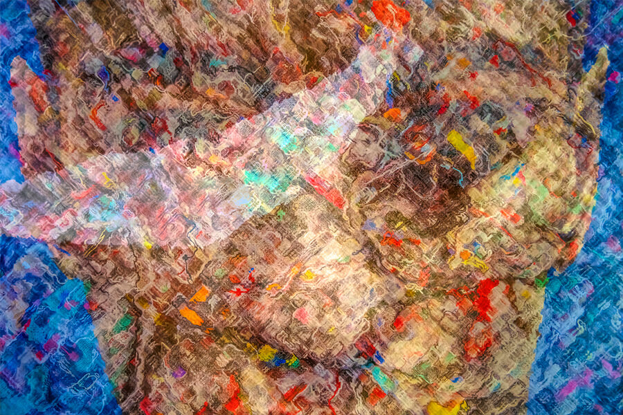 mango art festival 2020 Crossing boundaries Abstract photographic series by Bryce Watanasoponwong