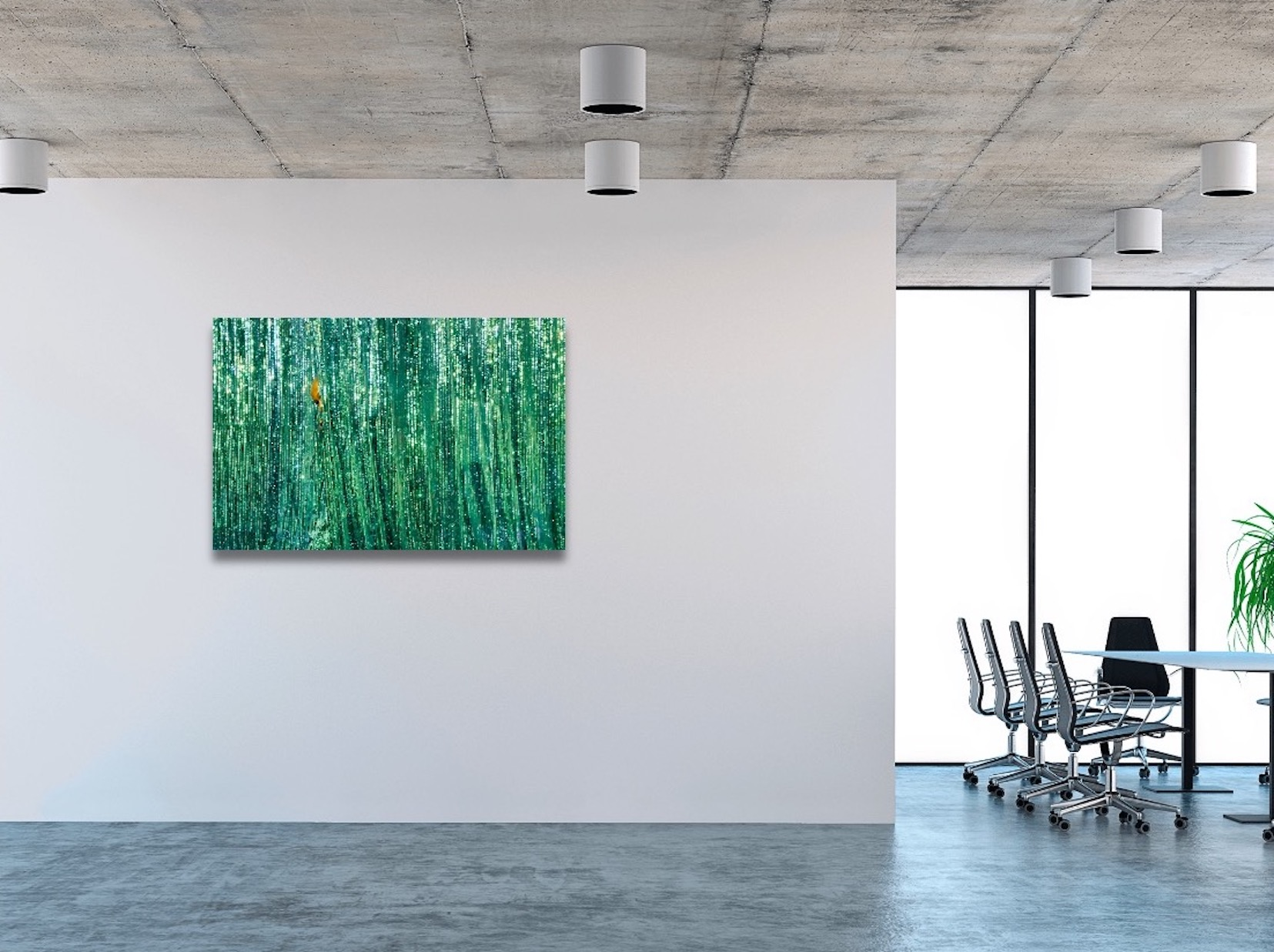 How to pick a photo print for office Abstract photo prints for office How to coordinate wall art